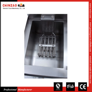 13L Stainless Steel Electric Counter Top Deep Fryer with Drain (Multiple Sizes) (Single Tank) pictures & photos