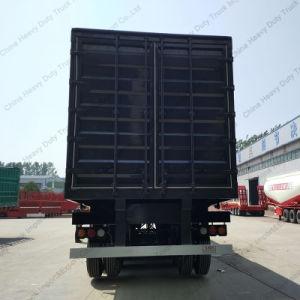 3 Axle 50 Tons Heavy Duty Van Truck Semi-Trailer pictures & photos