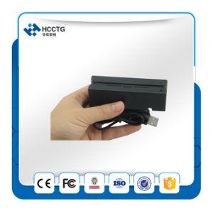 3 Tracks Mini Portable Magnetic Stripe Card Reader (HCC750U-06) pictures & photos