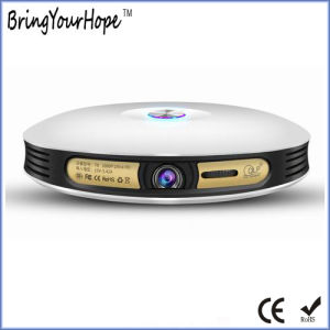 High Quality Round Wi-Fi Portable Intelligent Projector (XH-MSP-004) pictures & photos