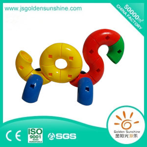 Children′s Plastic Puzzle Game, Intellectual Building Brick Toy with CE/ISO Certificate pictures & photos