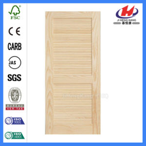 Wood Shutters for Sliding HDF Molded Custom Interior Folding Door pictures & photos