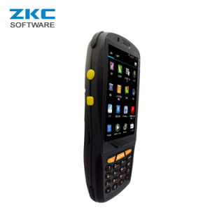 Zkc PDA3503 Qualcomm Quad Core 4G 3G GSM Android 5.1 WiFi USB Supermarket Laser Barcode Scanner with NFC RFID pictures & photos
