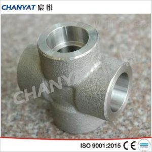Corrosion Resistant Pipe Fitting Threaded Crosses A182 (F347H, F348, F321) pictures & photos