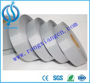 Bright Silver Reflective Fabric Tape for Safety Clothes pictures & photos