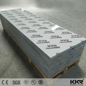 Wholesale Pure White Acrylic Resin Stone Solid Surface pictures & photos