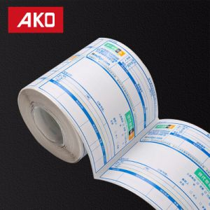 Pre-Printed Single Coated Art Paper Layer Price Label Self Adhesive Sticker for Shop pictures & photos