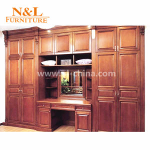 Modern Stylish Melamine Wood Open Wardrobe for Dressing Room pictures & photos