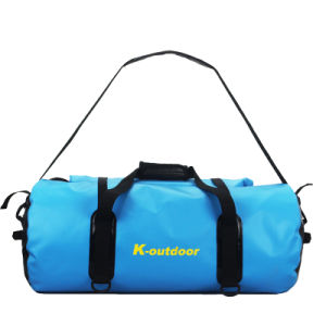 Fashion Waterproof PVC Tarpaulin 50L 60L Backpack Travel Bag pictures & photos