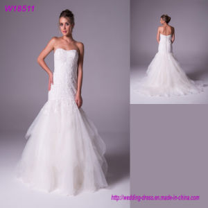 Foreign Trade Wholesale New Style Bridal Gown W18511 pictures & photos