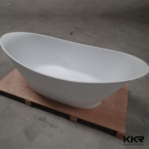 Sanitaryware Solid Surface 1800mm Freestanding Bathtub pictures & photos