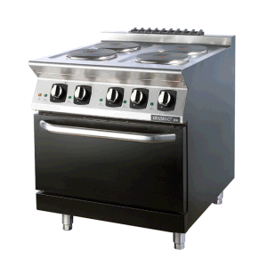 Commercial Four Burner Electric Oven with Cabinet (FEHXA200) pictures & photos