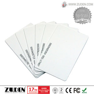 RFID Access Control ID Card with ID Number Printing pictures & photos