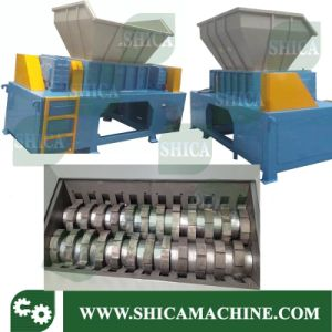 Two Shaft Shredder for Plastic Box and TV Set pictures & photos