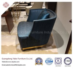 Creative Hotel Restaurant Furniture with Fabric Rotary Armchair (YB-0220) pictures & photos
