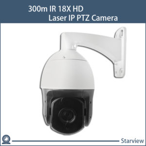 300m IR 18X HD Laser IP PTZ Camera pictures & photos