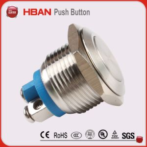 Hban 16mm Momentary Push Button pictures & photos