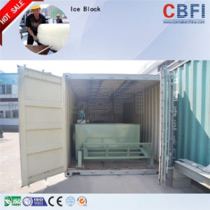 Coil Tube Evaporator Containerized Block Ice Machine for Ghana Market pictures & photos