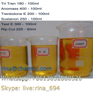 Injectable Finished Mixed Steroid Oil Anomass 400mg/Ml for Muscles Building pictures & photos