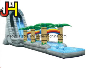 Tropical Inflatable Water Slide with Pool for Outdoor Activities pictures & photos