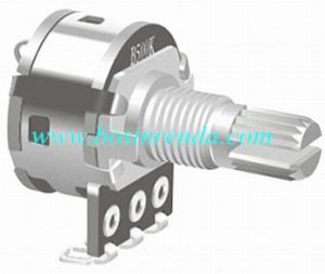 16mm Rotary Potentiometer with Switch for Sound Audio Equipment - RP1611SN pictures & photos