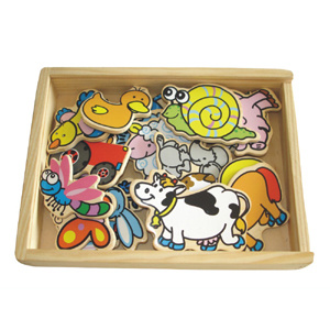 Wooden Magnetic Farm Animals (80639) pictures & photos