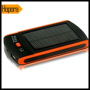6000mAh Portable Slim Solar Panel Power Bank Charger pictures & photos
