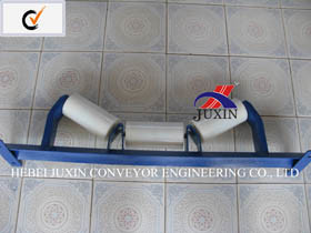 Conveyor Nylon Idler with Frame for Cement Coal Industry pictures & photos