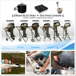 Electric Outboard Motor 20HP pictures & photos
