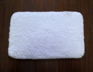 White Pure Cotton Hotel Shag Rugs/Mat pictures & photos