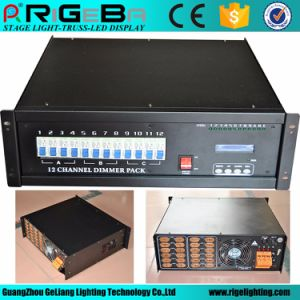 Hot Selling LED Stage Lighting Control Product 12CH 4kw Digital Module Dimmer Pack pictures & photos