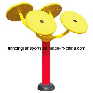 -Taiji Wheel (H014) Playground Gym Fitness Equipment
