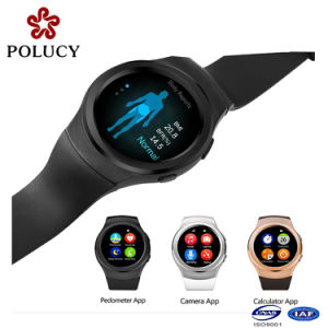 2016 Fashion 3G Mobile Cell Phone Silicone Smartwatch with SIM Card pictures & photos