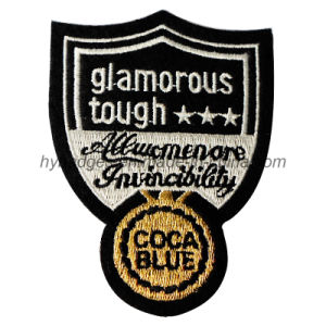 Irregular Shape Woven Embroidery Patch Badge (GZHY-PATCH-002) pictures & photos