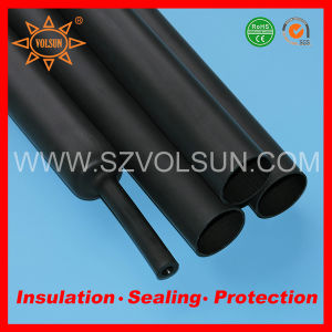 Factory Wholesale Black Mechanical Heavy Wall Heat Shrink Tube pictures & photos