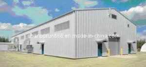 Azerbaijan Industrial Steel Building Metallic Structure Building (BR00108)