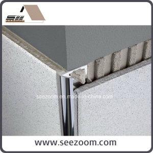 Silver Round Aluminum Ceramic Tile Edge Trim