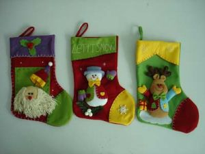 Christmas Santa Snowman Reindeer Stockings (VS112801)