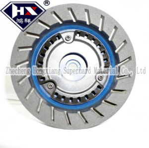 Silent Beveling Resin Diamond Grinding Wheel pictures & photos