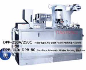 Dpb Series Plate Automatic Blister Packing Machine pictures & photos