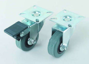 T Plate Rubber Caster (M6801T) pictures & photos