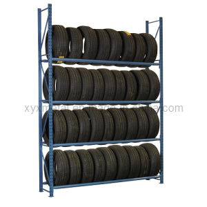 Warehouse Auto Tire Racking 4s Store Selective Beam Tire Rack pictures & photos