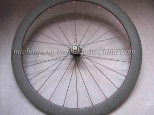 Full Carbon Bicycle Wheel 3k Matte 50mm