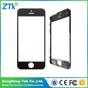 AAA Phone Front Screen Glass with Frame for iPhone 5c pictures & photos