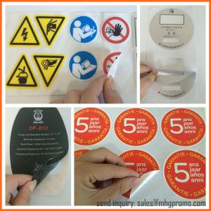 Custom Die Cut Logo Adhesive Waterproof Sticker pictures & photos