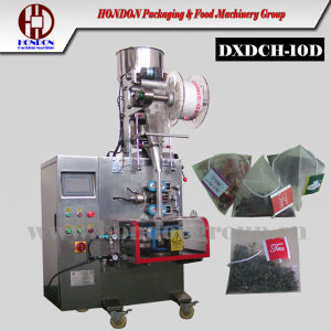 Tea Pyramid Bag Filling and Sealing Machine (DXDCH-10D) pictures & photos