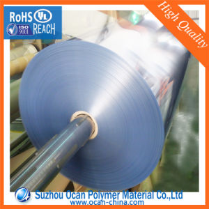 Blue Tint Rigid Clear PVC Film Roll pictures & photos