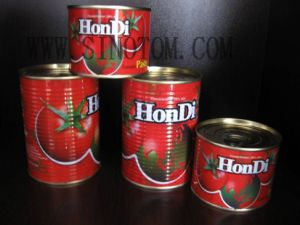 Export Tomato Paste High Quality 400g China Origin Canned Tinned Tomato Paste