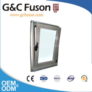 Tilt and Turn Aluminium Window with Crescentic Hardwares pictures & photos