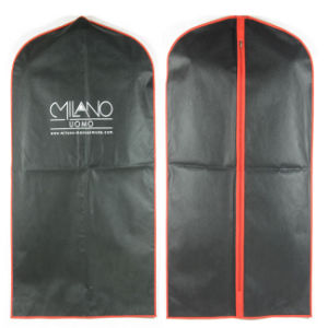 Custom-Size PP Suit Bag, Non Woven Garment Bag, Clothing Bag for Cover (MECO235) pictures & photos